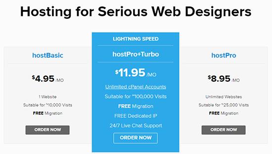 Site5 shared hosting plans