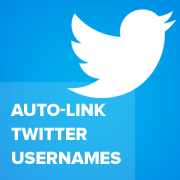 How to Automatically Link Twitter Usernames in WordPress