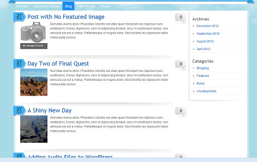 Featured Images with a Default Fallback  Thumbnail