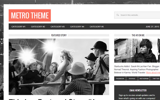 Metro Theme by StudioPress