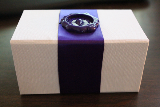 Moo Card Box with Wax Seal