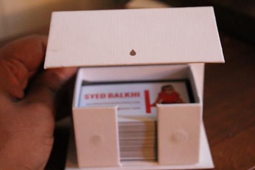 Moo Cards Box Opened
