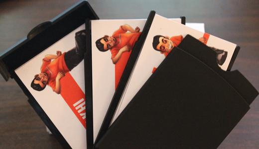 Moo Card Holder Slide Open