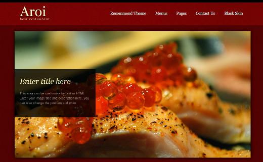 Aroi - A restaurant theme by mojo themes