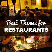 Best WordPress Restaurant Themes of 2013