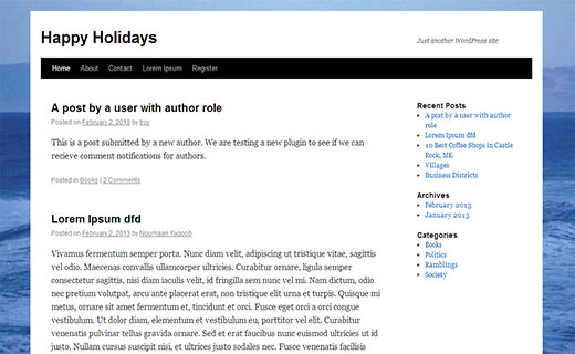 Adding a full screen background image in WordPress