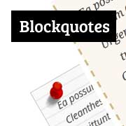 How To Customize Blockquotes Style in WordPress Themes