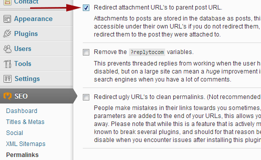 Disable attachment pages and redirect users to parent post