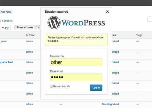 Improved Login Notifications - WordPress 3.6
