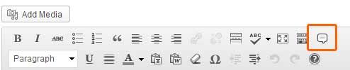 PullQuotes Icon WordPress Visual Editor