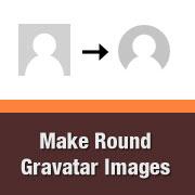 How to Display Round Gravatar Images in WordPress