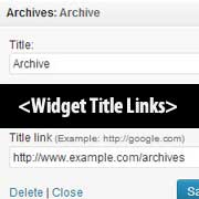 How to Add a Link to Widget Titles in WordPress