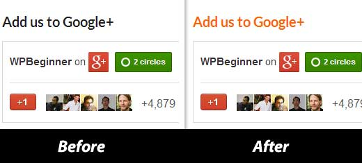 Widget Title Links Preview