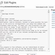 Plugin Editor