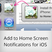 How to Ask Readers to Add Your WordPress Blog Icon on iPhone