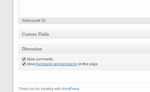 Enable / Disable Comments on a Single Article in WordPress