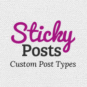 How to Add Sticky Posts in WordPress Custom Post Type Archives