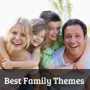 Best WordPress Themes for Family Blogs 2013