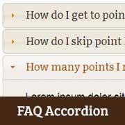 How to Add a jQuery FAQ Accordion in WordPress