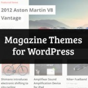 Best WordPress Magazine Themes of 2013