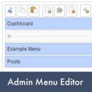 How to Add, Edit, Re-order or Hide WordPress Admin Menus