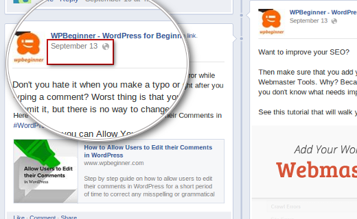 Finding Facebook public posts to embed in WordPress
