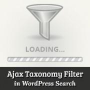 How to Add Ajax Taxonomies Filter in WordPress Search