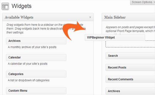 Creating a Custom WordPress Widget