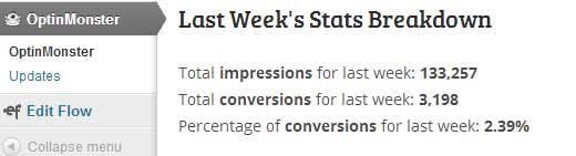 OptinMonster Stats