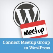 How to Connect WordPress with Meetup.com Group