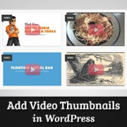 How to Add Thumbnails For YouTube Videos in WordPress