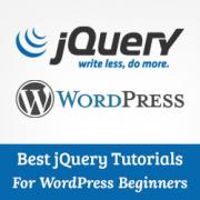 8 Best jQuery Tutorials for WordPress Beginners