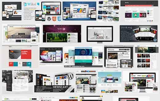 Thèmes WordPress premium