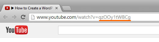 Finding the YouTube Video ID