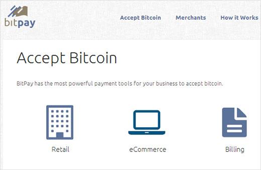 Accept Bitcoin - eCommerce