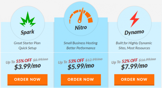 Your Web Hosting Hub discount will be automatically applied