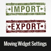 How to Import/Export Widget Settings in WordPress