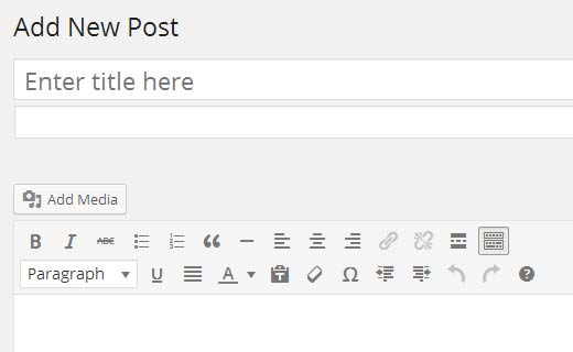 Alternate title box for the secondary title in WordPress post editor