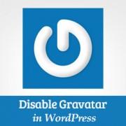 How to Disable Gravatars in WordPress