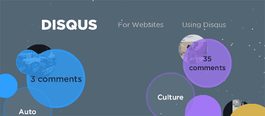 Disqus for websites