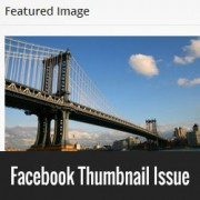 How to Fix Facebook Incorrect / No Thumbnail Issue in WordPress