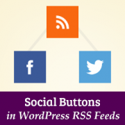How to Add Social Buttons in WordPress RSS Feed