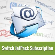 How to Switch from JetPack Subscription to MailChimp, AWeber, etc