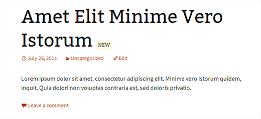 Highlighting new since last visited articles in WordPress