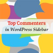 How to Display Your Top Commenters in WordPress Sidebar