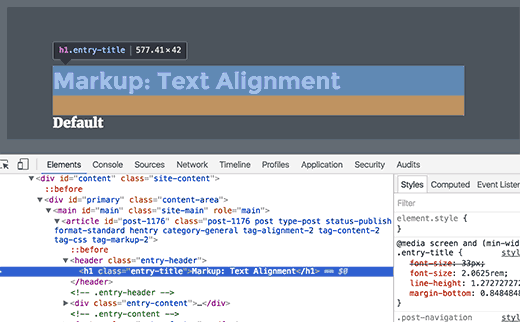 Editing a particular HTML element
