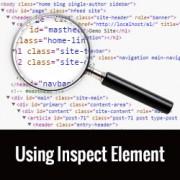 Basics of Inspect Element: Customizing WordPress for DIY Users