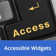 How to Add WordPress Widgets in Accessibility Mode