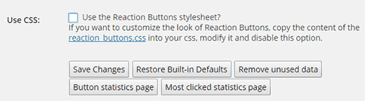 Disable loading plugin's stylesheet