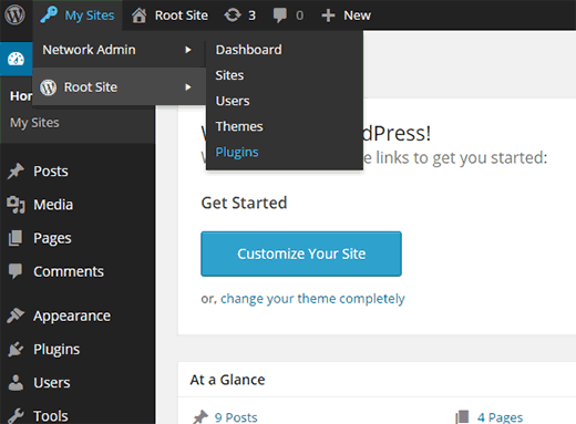 Adding a new plugin in a WordPress multisite network